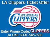 LA Clippers Ticket Promo